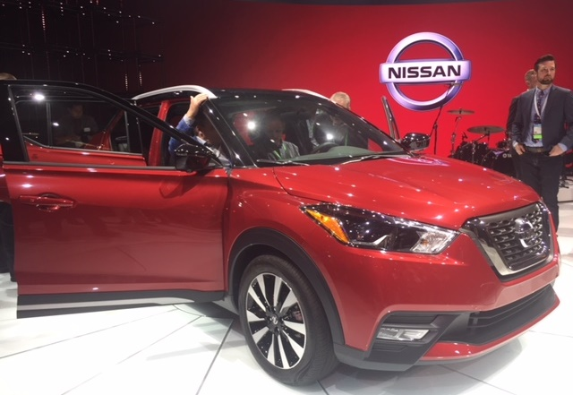 Photo of the 2018 Nissan Kicks by Chris Brown.