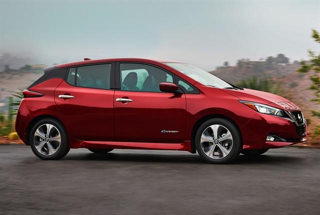 2018 nissan leaf adds range, cuts price - green fleet - automotive fleet