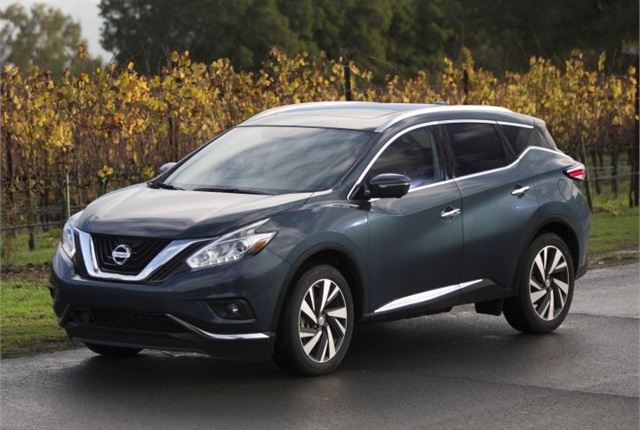 Photo of 2016 Murano courtesy of Nissan.