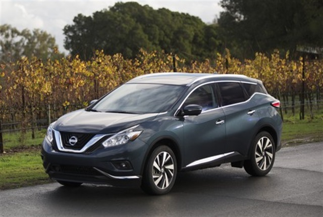 Photo of 2018 Murano courtesy of Nissan.