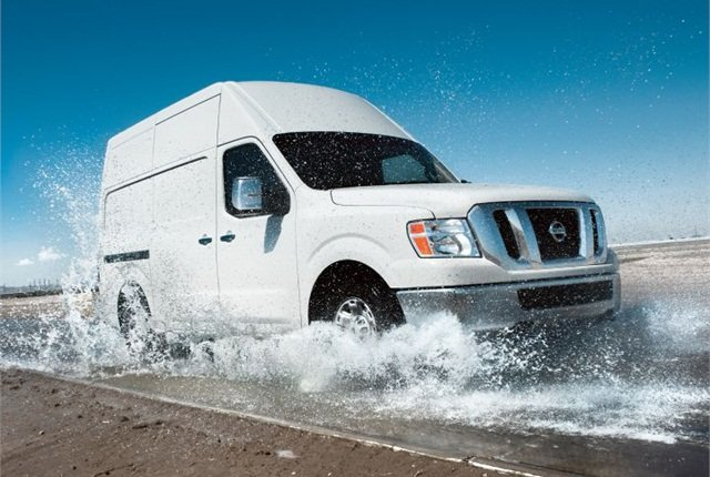 Photo of 2015 NV cargo van courtesy of Nissan.