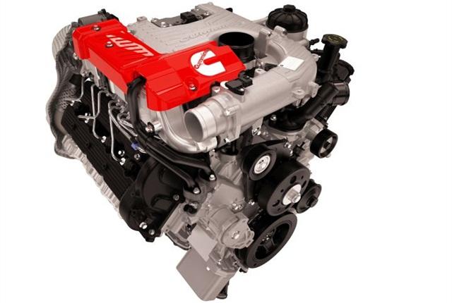 Photo of Cummins 5.0L turbo diesel courtesy of Nissan.