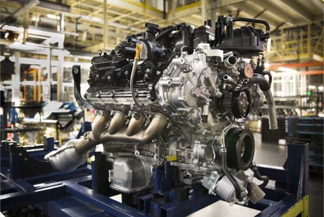 Nissan's advanced 5.6-liter Endurance gasoline V-8 is being built in southern Tennessee.