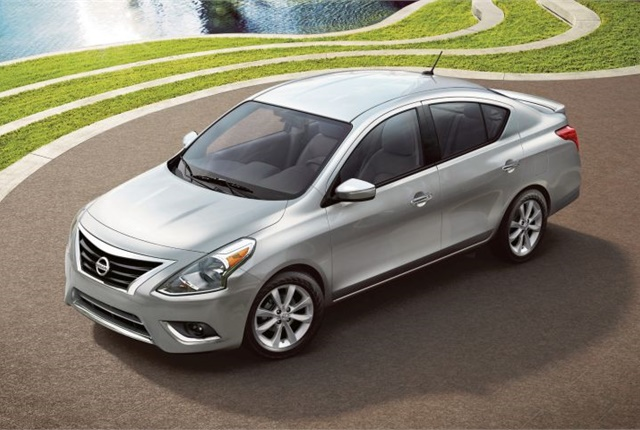 Photo of the 2017 Versa courtesy of Nissan.