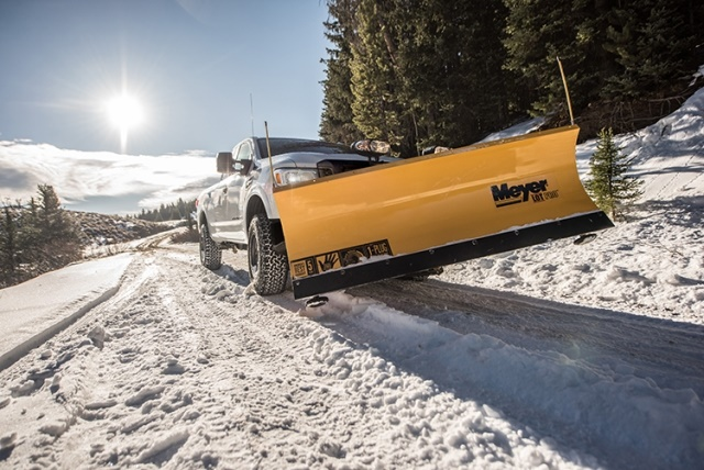 The new Snow Plow Prep Package features high-capacity, heavy-duty front springsand is available for use with five leading snow plow manufacturers. (Photo courtesy of Nissan)
