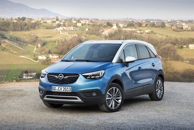 The Opel Crossland X. Photo courtesy of Opel