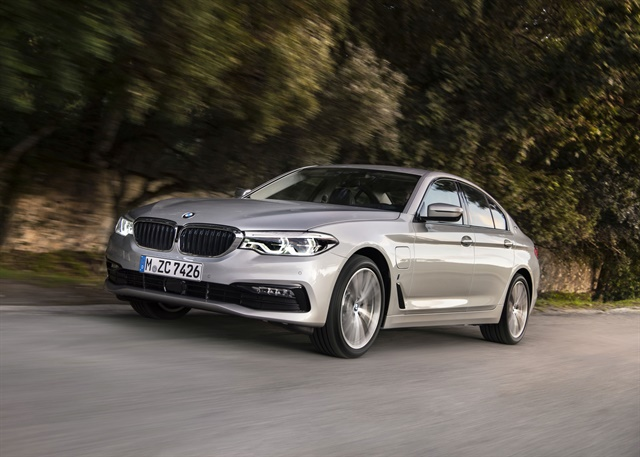 Photo of 2018 530e courtesy of BMW.
