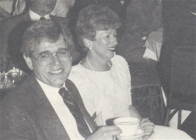 File photo of Sam Penn with wife Beverly