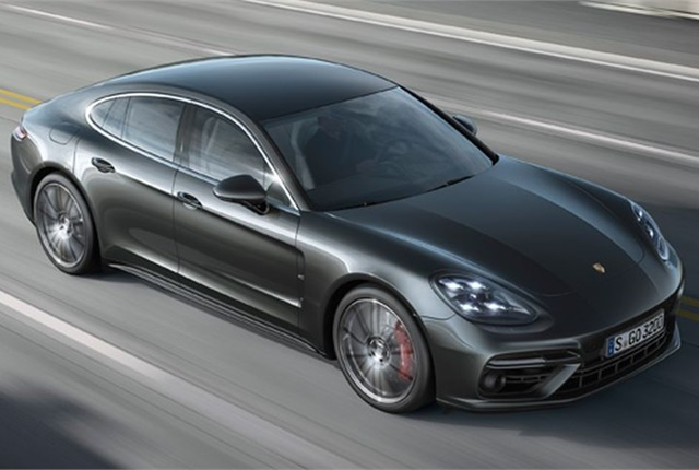 Photo of 2017 Panamera courtesy of Porsche.