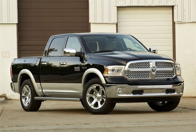 Photo of 2015 Ram 1500 courtesy of Chrysler.