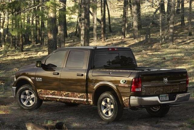 2014 Ram 1500 4x4 truck photo courtesy of Chrysler.