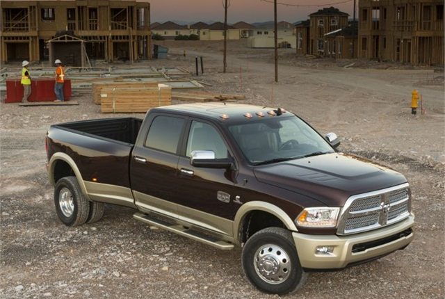 Photo of 2014 Ram 3500 courtesy of Chrysler.