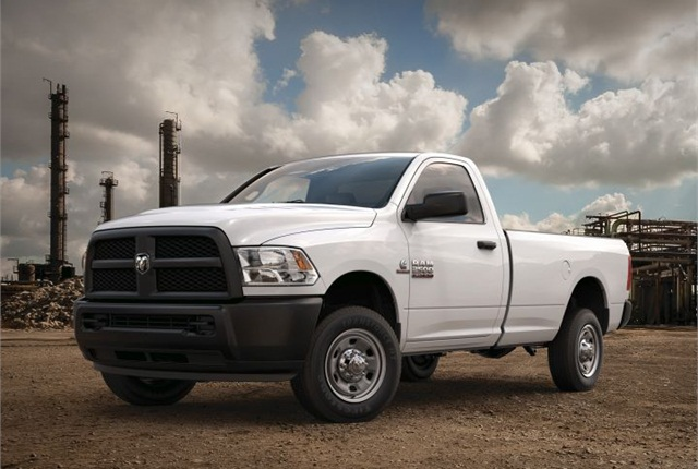 Photo of 2016 Ram 2500 courtesy of FCA US.