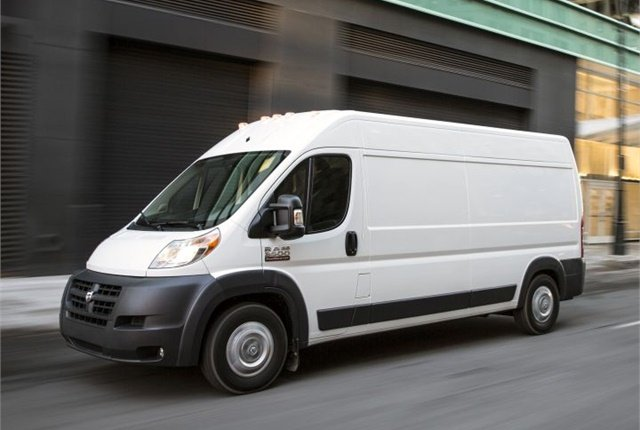 Photo of 2015 Ram ProMaster courtesy of FCA.