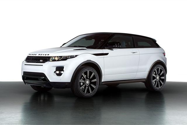Photo of Range Rover Evoque courtesy of Land Rover.
