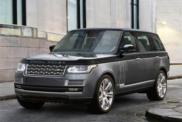 Photo of 2016 Range Rover courtesy of Land Rover.