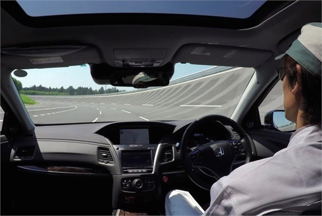 <p><em>Honda has set 2025 as a target for the debut of vehicles with highly automated driving systems installed. Photo courtesy of Honda.</em></p>
