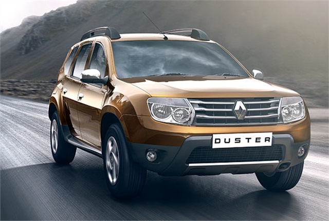 The Renault Duster is among the vehicles manufactured by the automaker in Brazil