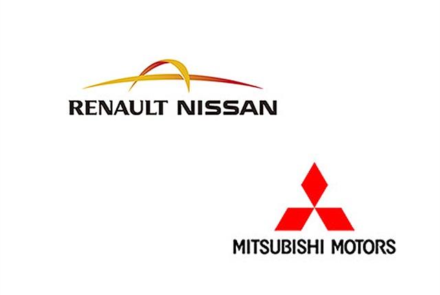 Logos via Renault-Nissan, Mitsubishi.