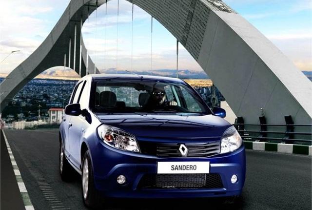 Photo of Renault Sandero courtesy of Renault.