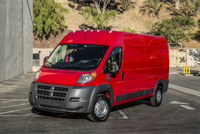 Photo of 2014 Ram ProMaster van courtesy of Chrysler.