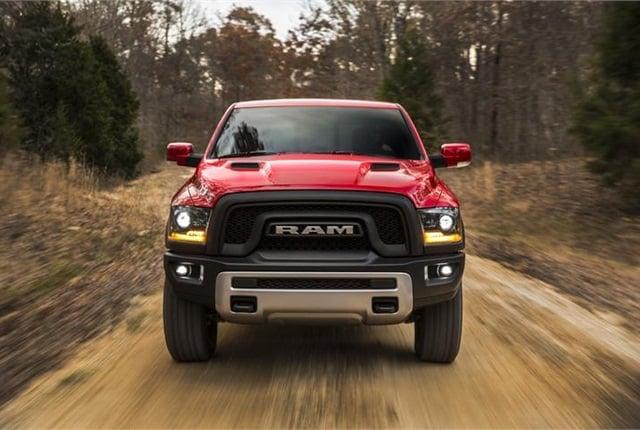 Photo of Ram 1500 courtesy of FCA (Fiat Chrysler Automobiles).