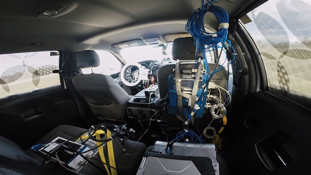 Super Duty Robotic Testing, photo courtesy of Ford.