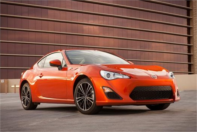 Photo of Scion FR-S courtesy of Toyota.