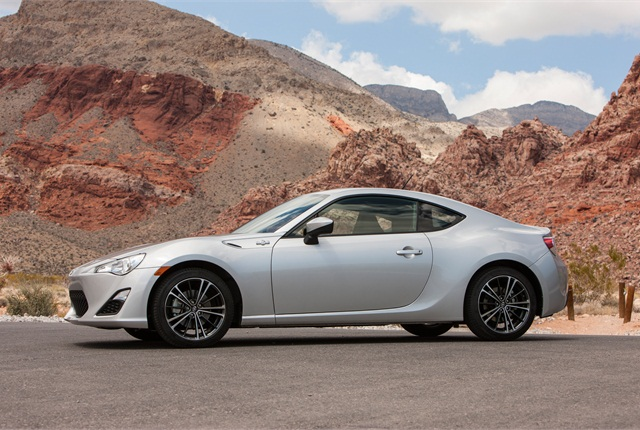 The Scion FR-S two-door sports coupe. Photo: Toyota.
