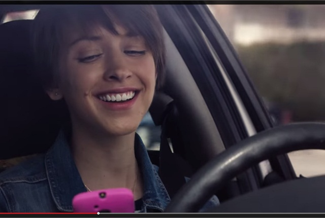 Screen-capture taken from NHTSA PSA via YouTube.