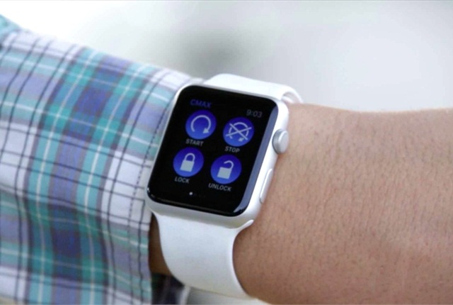 Wearable devices are among Ford's inventions in 2015. Image courtesy of Ford.