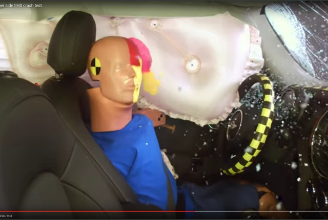 Video Mini Cooper Aces Iihs Crash Tests Safety Accident