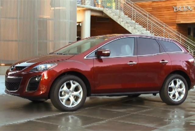 Screen shot of Mazda CX-7 courtesy of Mazda.