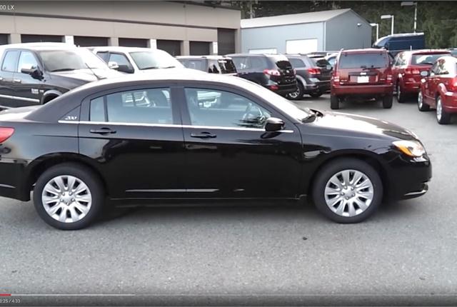Screen Shot Of Chrysler 200 Via You