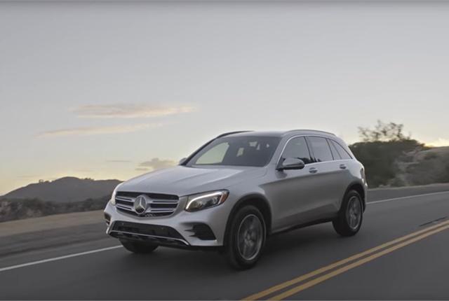 Screen shotcourtesy of Mercedes-Benz via YouTube.