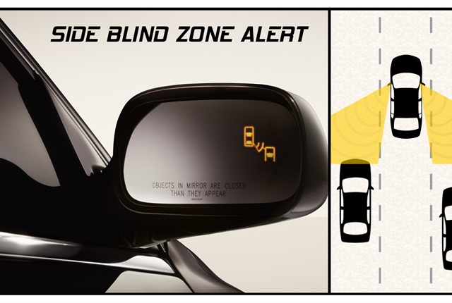 A new study examines the driving public's knowledge of such technologies as blind spot monitoring. Image courtesy of General Motors.