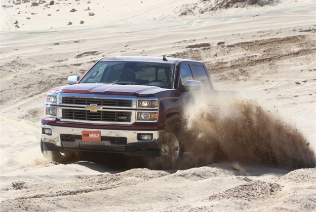 Photo of 2014 Chevrolet Silverado courtesy of GM.
