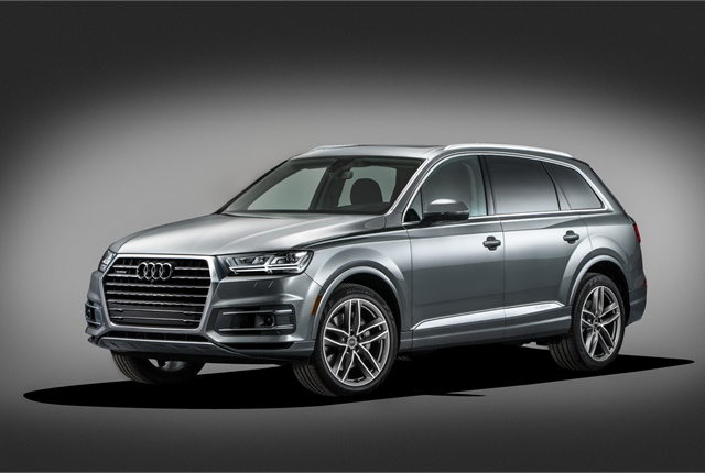 Image of Audi Q7 courtesy of Audi.