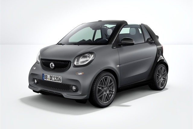 Photo of 2017 smart fortwo courtesy of MBUSA.