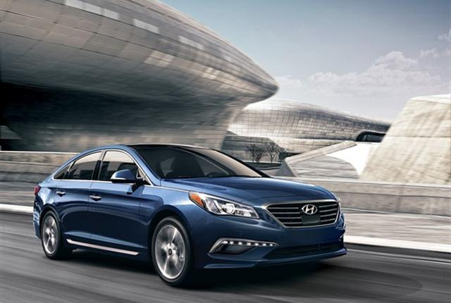 Imageof Hyundai Sonata courtesy of Hyundai.