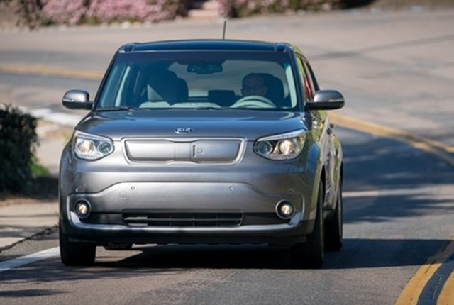 2018 Kia Soul EV courtesy of Kia.