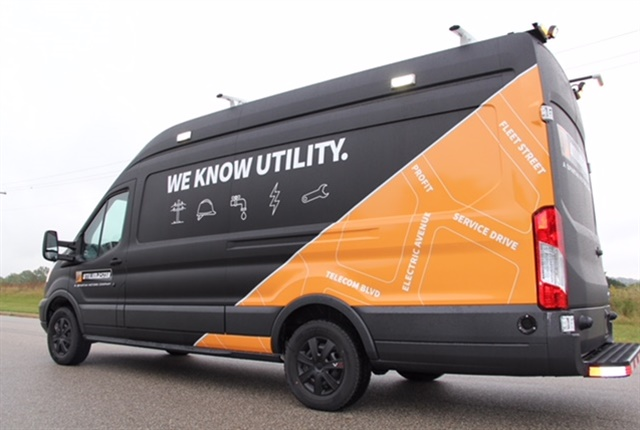 Photo of Ford Transit Utility exterior courtesy of Spartan Motors.