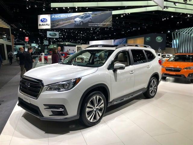 Subaru's all-new 2019 Ascent three-row SUV. Photo by Paul Clinton.