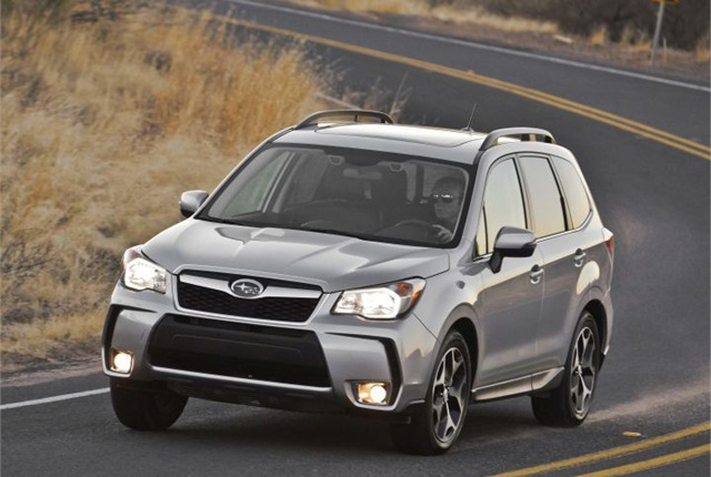 Photo of 2014 Forester XT courtesy of Subaru.