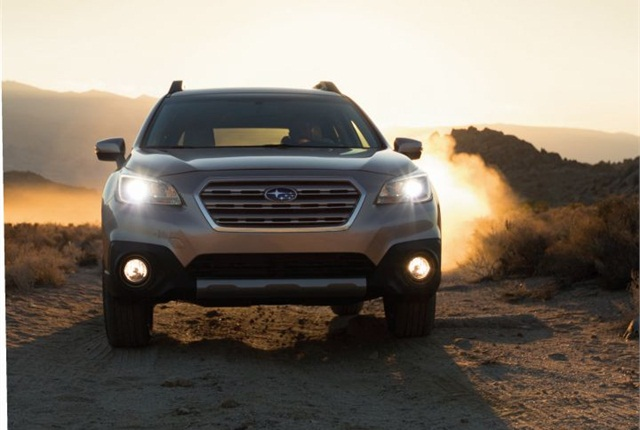 Photo of 2015 Outback courtesy of Subaru.