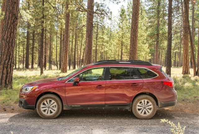 Photo of 2016 Outback courtesy of Subaru.