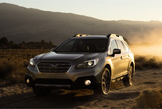 Photo of 2017 Outback courtesy of Subaru.