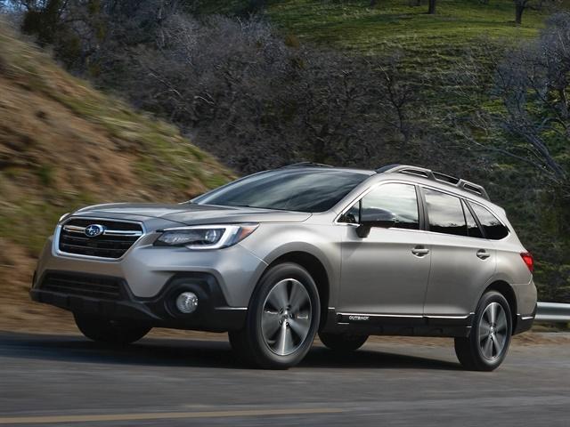 Photo of 2018 Outback courtesy of Subaru.