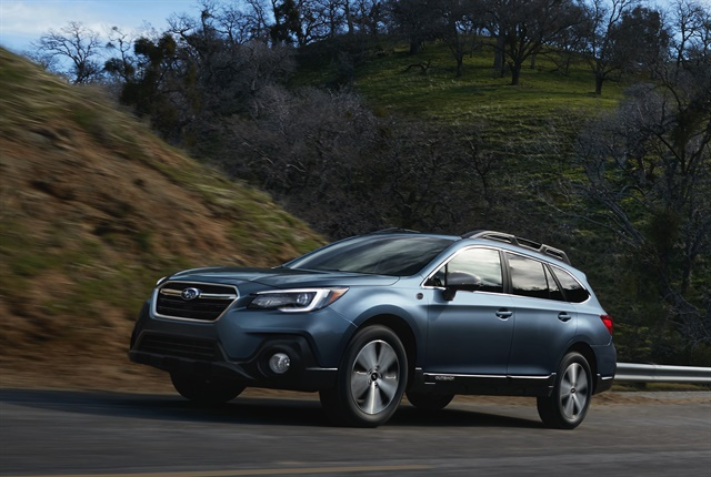Photo of 2018 Outback 50th Anniversary Edition courtesy of Subaru.