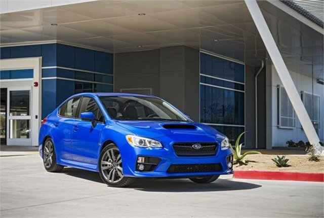Photo of Subaru WRX courtesy of Subaru.